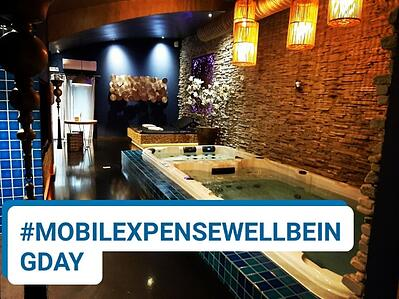MobileXpense employee well-being day - Spa